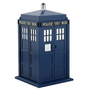free tardis cut and fold model